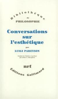 Conversations sur l'esthétique