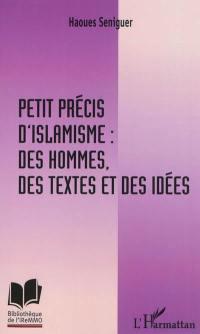 Petit précis d'islamisme