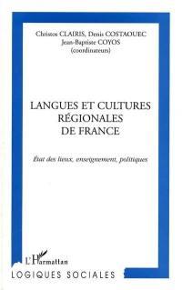 Langues et cultures régionales de France