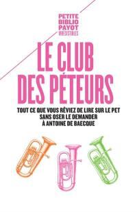 Le club des péteurs