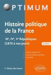 Histoire politique de la France