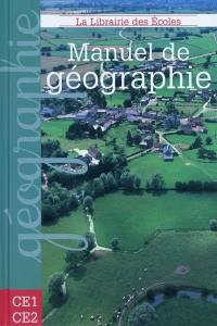 Manuel de géographie CE1-CE2