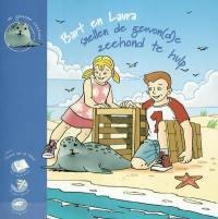 Bart en Laura snellen de gewon(d)e zeehond te hulp