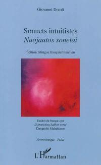 Sonnets intuitistes = Nuojautos sonetai