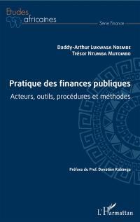 Pratique des finances publiques