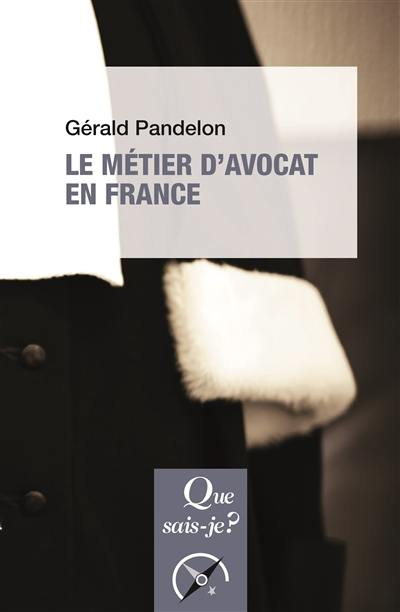 Le métier d'avocat en France