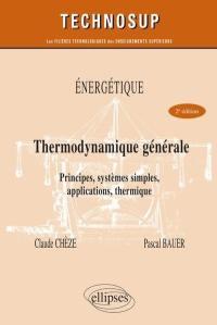 Energétique, thermodynamique générale