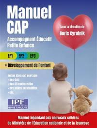 Manuel CAP accompagnant éducatif petite enfance