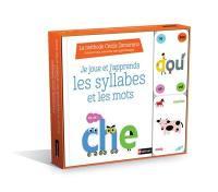 Je joue et j'apprends les syllabes et les mots