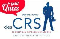 Le petit quiz des CRS