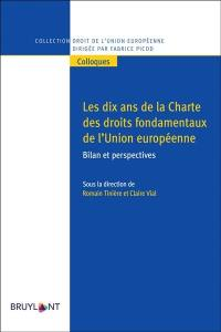 Les dix ans de la Charte des droits fondamentaux de l'Union européenne