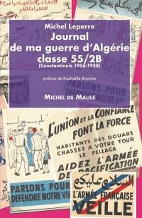 Journal de ma guerre d'Algérie