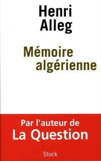 Mémoire algérienne