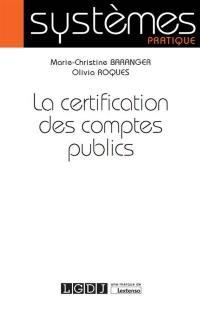 La certification des comptes publics