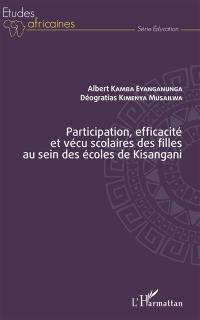 Participation, efficacité et vécu scolaires des filles au sein des écoles de Kisangani