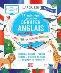 15 minutes par jour pour débuter l'anglais
