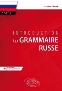 Introduction à la grammaire russe