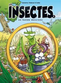 Les insectes en bande dessinée. Volume 1,