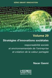 Stratégies d'innovations sociétales