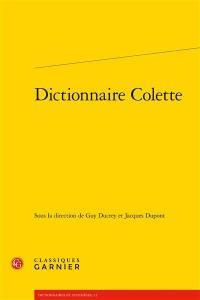 Dictionnaire Colette