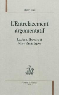 L'entrelacement argumentatif