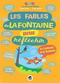 Les Fables de La Fontaine pour réfléchir,
