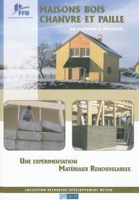 Maisons bois, chanvre et paille sur la commune de Montholier
