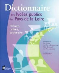 Dictionnaire des lycées publics des Pays de la Loire