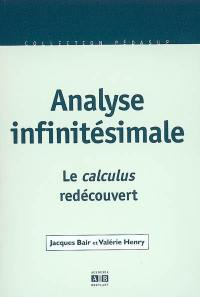 Analyse infinitésimale