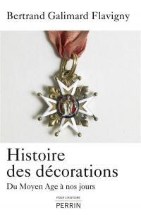Histoire des décorations