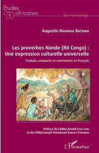 Les proverbes nande (RD Congo)
