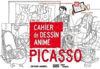 Picasso : cahier de dessin animé