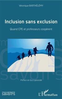 Inclusion sans exclusion
