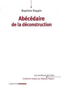 Abécédaire de la déconstruction