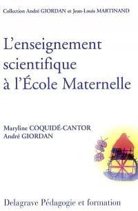 L'enseignement scientifique et technique à l'école maternelle
