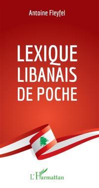 Lexique libanais de poche