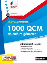 1.000 QCM de culture générale