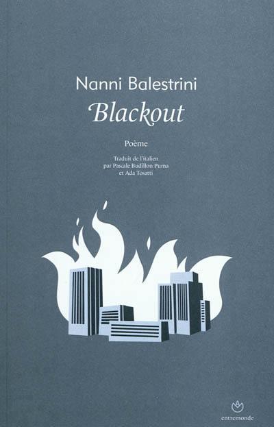 Blackout : poème