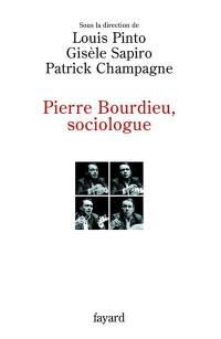 Pierre Bourdieu, sociologue