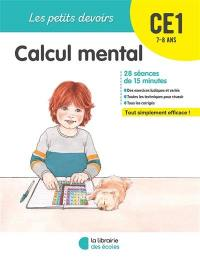 Calcul mental CE1, 7-8 ans