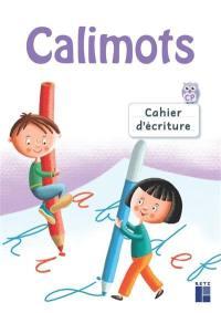 Calimots, CP : cahier d'écriture