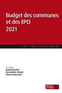 Budget des communes et des EPCI 2021