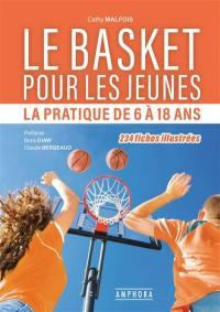 Basket pour les jeunes : la pratique de 6 à 18 ans
