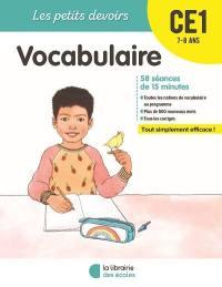 Vocabulaire CE1, 7-8 ans