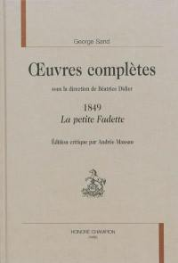 Oeuvres complètes, 1849