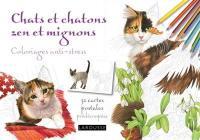 Chats et chatons zen et mignons