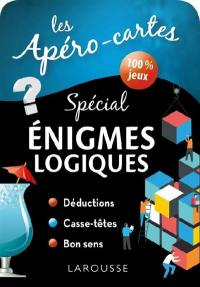 Les apéros-cartes spécial énigmes logiques