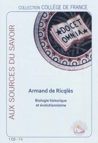 Biologie historique et évolutionnisme