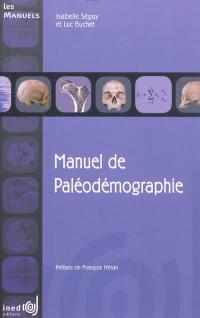 Manuel de paléodémographie
