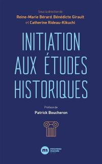 Initiation aux études historiques